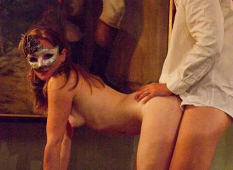 sesso maschera